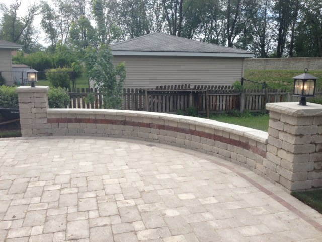 All Season is partners with some of the area's leading pool installation  companies. We collaborate from proper grading to necessary retaining walls,  ... - Brick Pavers Installation Orland Park, IL Professional Landscape